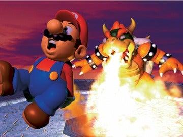 Ilustración de Super Mario 64