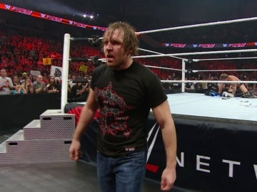 Ambrose se convierte en el protagonista de 'Raw'