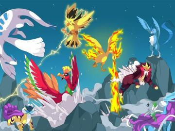 Pokémon legendarios
