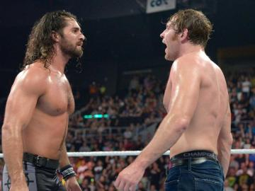 La lucha entre Rollins y Ambrose en el Campeonato WWE termina en controversia