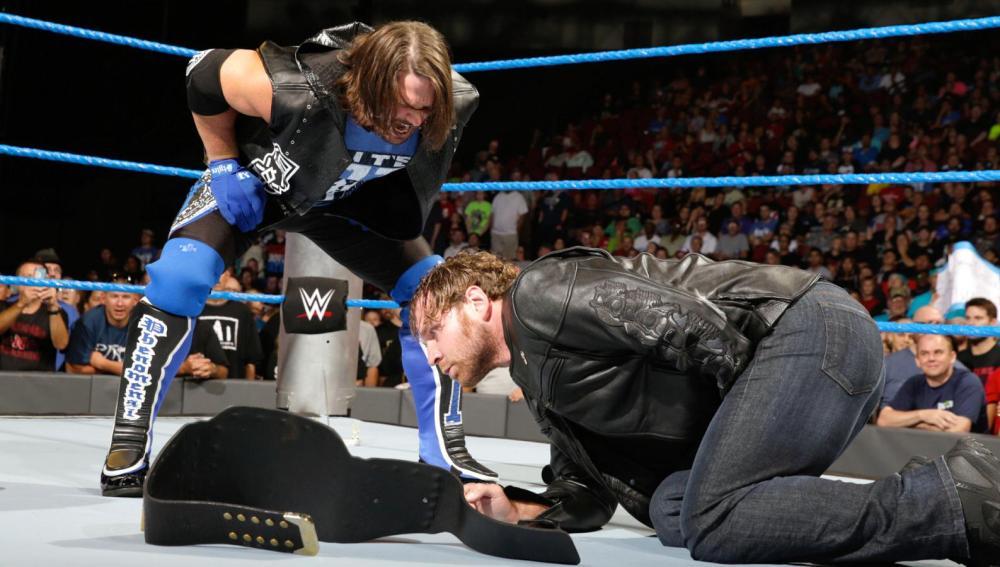 AJ Styles reta al campeón de WWE Dean Ambrose