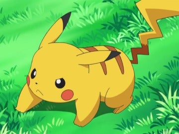 Pikachu en el anime