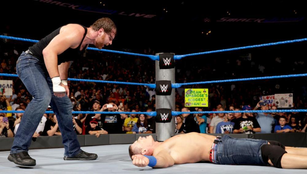 Ambrose traiciona a John Cena después de vencer en el Main Event en 'SmackDown'