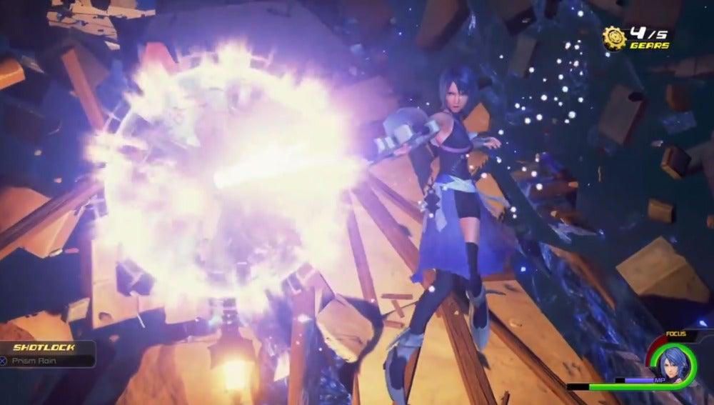 Aqua, de Kingdom Hearts
