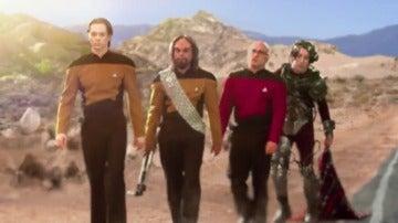 Frame 4.689071 de: La tripulación del Enterprise, atrapada en el planeta Tierra