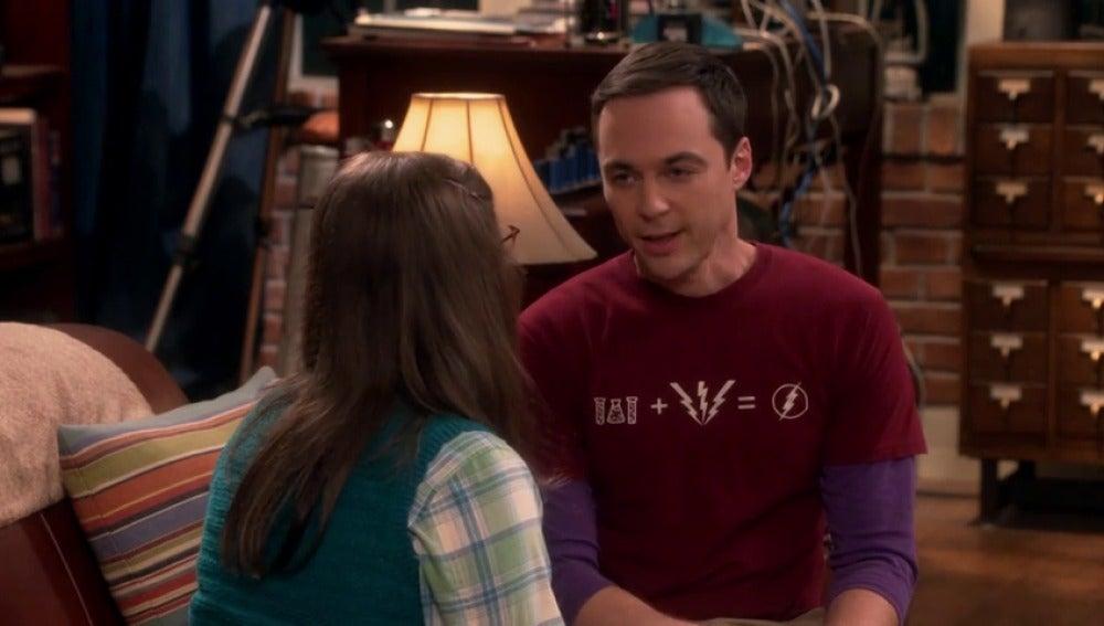 Frame 15.024496 de: Sheldon y Amy pelean por el horario del baño