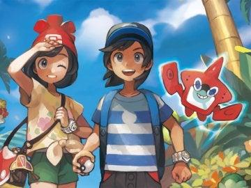 Artwork de Pokémon Sol y Luna
