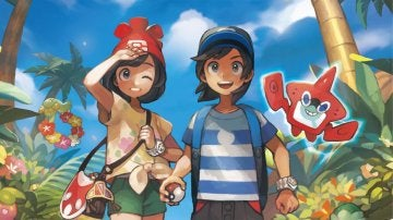Artwork de Pokémon Sol y Luna