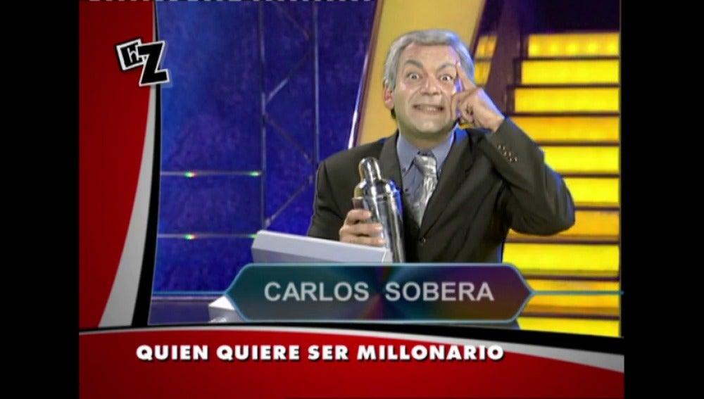Frame 7.527362 de: Carlos Sobera lo daba todo en Quién quiere ser millonario