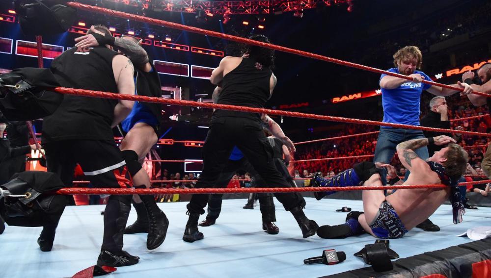 El team 'Raw' calienta motores de cara a Survivor Series