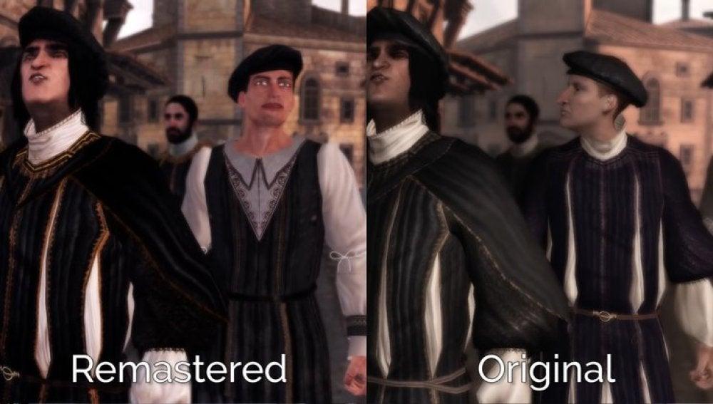 Assassin's Creed Comparación
