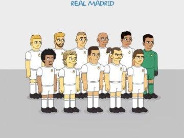 El Real Madrid de Los Simpson