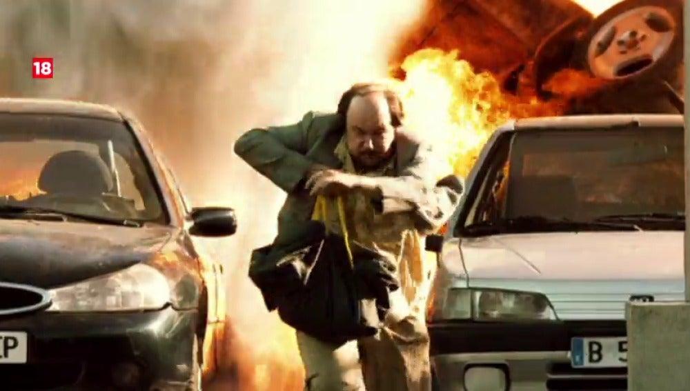 """Frame 4.951759 de: """"Torrente 3: El Protector"""" en Neox y Acción"""
