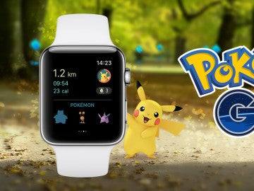 Pokémon GO en Apple Watch