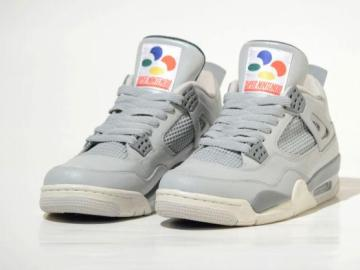 Super Nintendo Air Jordan 4