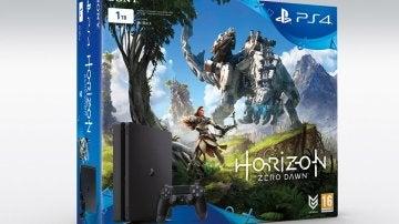 PlayStation 4 Slim con Horizon: Zero Dawn