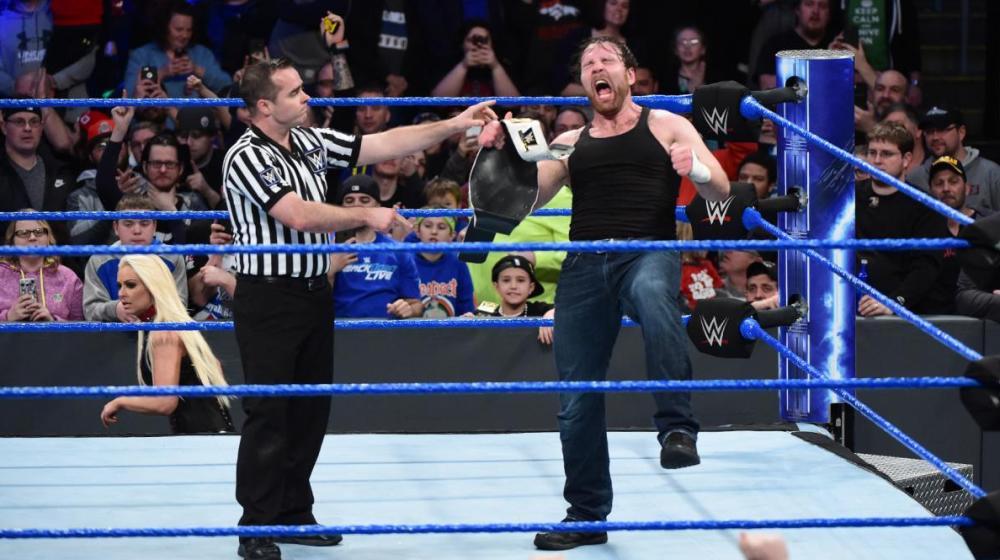 Ambrose retiene el campeonato intercontinental en 'Smackdown Live'