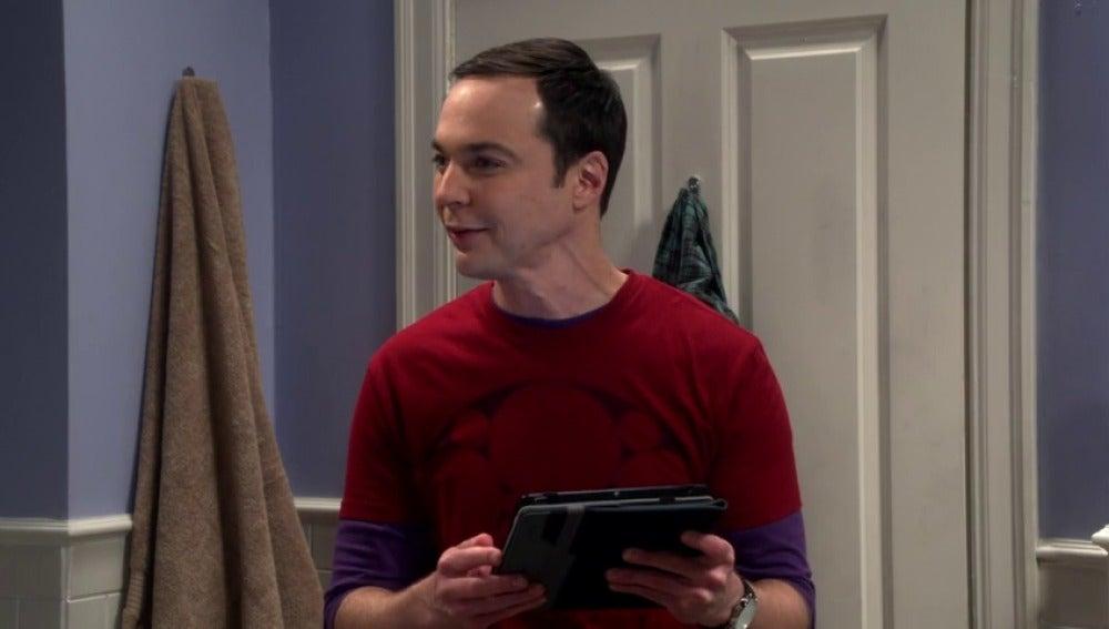 Frame 57.175367 de: Sheldon, emocionado con un viaje en tren que Leonard y Howard le han regalado