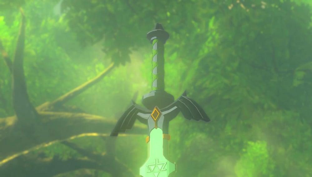 Espada Maestra en The Legend of Zelda: Breath of the Wild