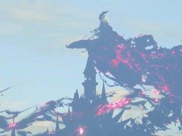 Castillo de Hyrule en The Legend of Zelda: Breath of the Wild