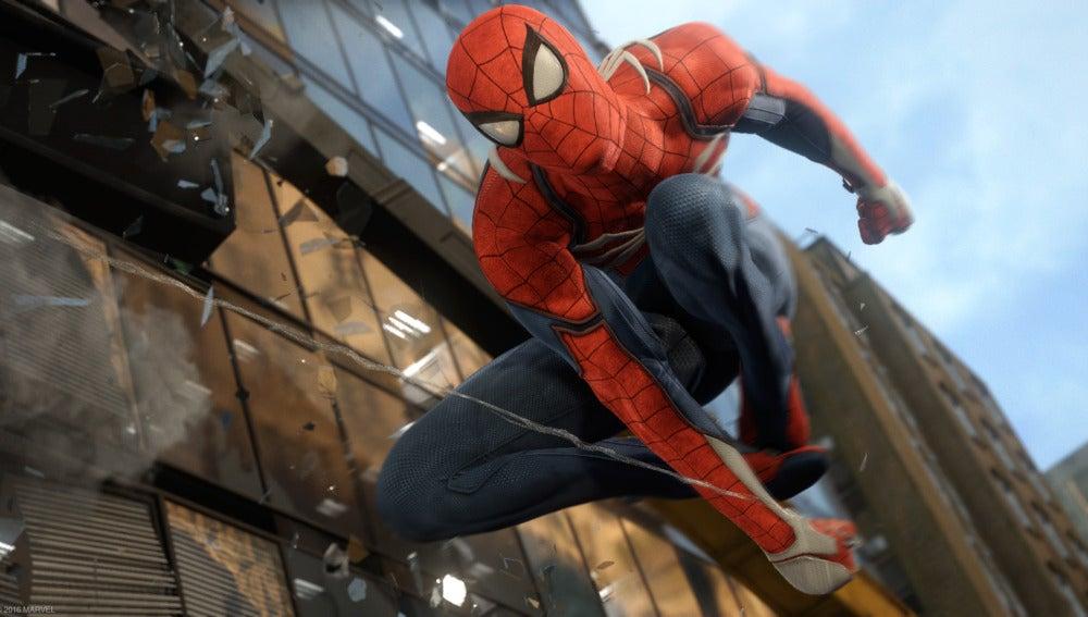 Imagen de animación de 'Spiderman'