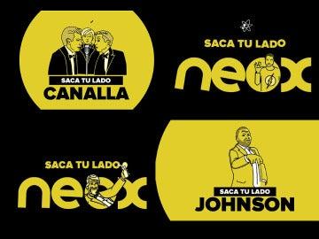 Saca tu lado Neox