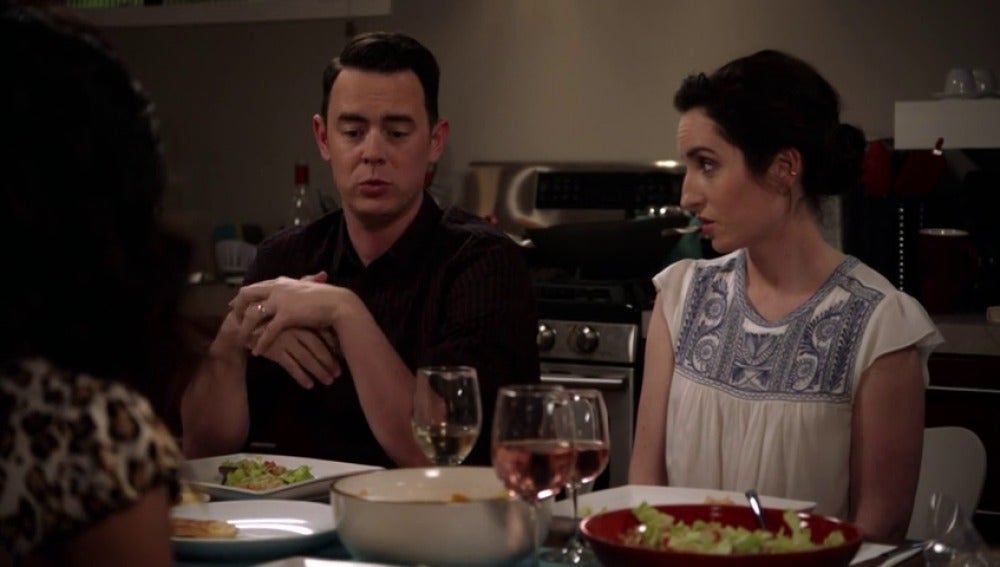 Frame 65.418816 de: Jen no se cree que Greg saliera con una 'chica playboy'