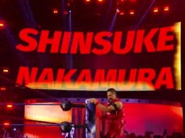 Frame 96.458738 de: Nakamura hace su debut en Smackdown Live