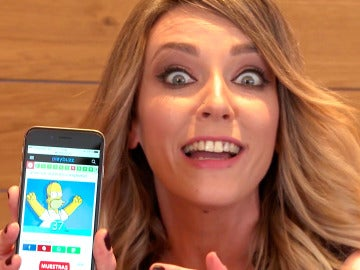 Anna Simon 'lo peta' en el test definitivo de 'Los Simpson'