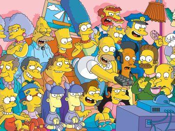 Todos los personajes de 'Los Simpson'