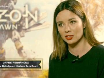 Frame 39.33 de: Michelle Jenner y Dafne Fernández nos cuentan los secretos del doblaje en los videojuegos