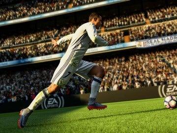CR7 en FIFA 18