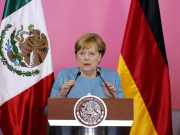 La canciller alemana Ángela Merkel