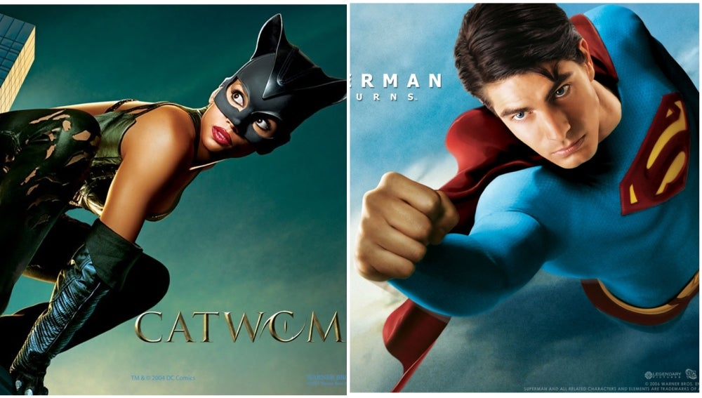 Catwoman y Superman Returns en Neox
