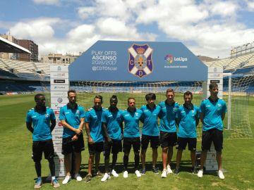 Jugadores del C.D. Tenerife