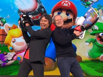 Shigeru Miyamoto e Yves Guillemot