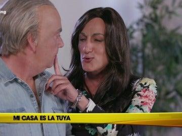 Mariló Montero corta un pepino con la 'mirada MILF'