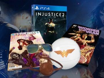 Consigue este pack de Injustice 2 y Wonder Woman