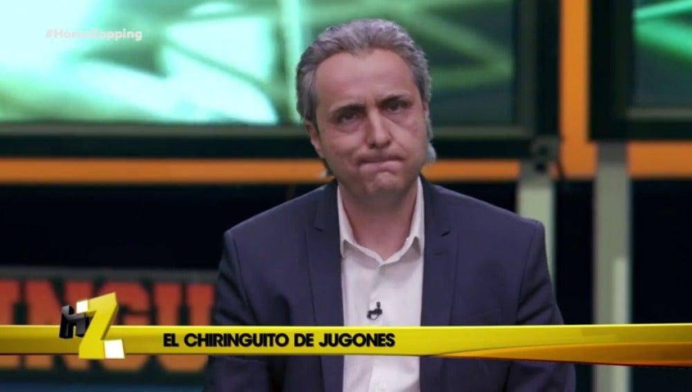 """""""Si pierde aceite, es el Camp Nou"""""""
