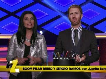Pilar Rubio y Sergio Ramos concursan en '¡Boom!', el domingo en 'Homo Zapping'