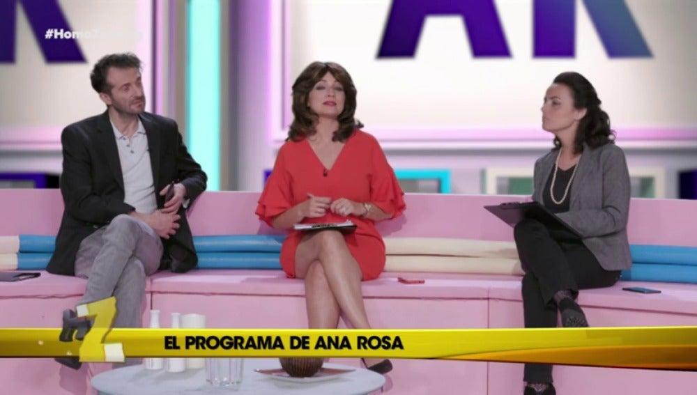 """Ana Rosa: """"Es mí exclusiva. Esto es la guerra"""""""