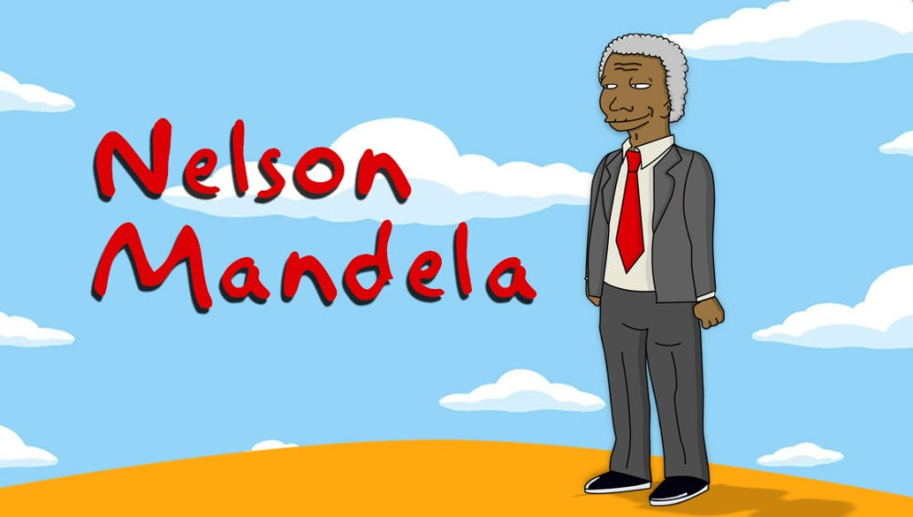 El personaje de Nelson Mandela que nunca descubriste en 'Los Simpson'
