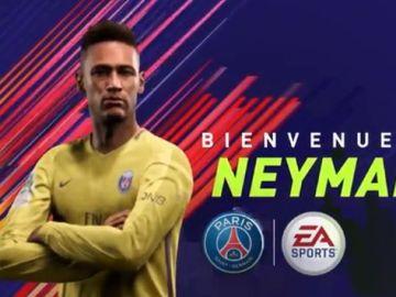 Neymar en el PSG - FIFA 18