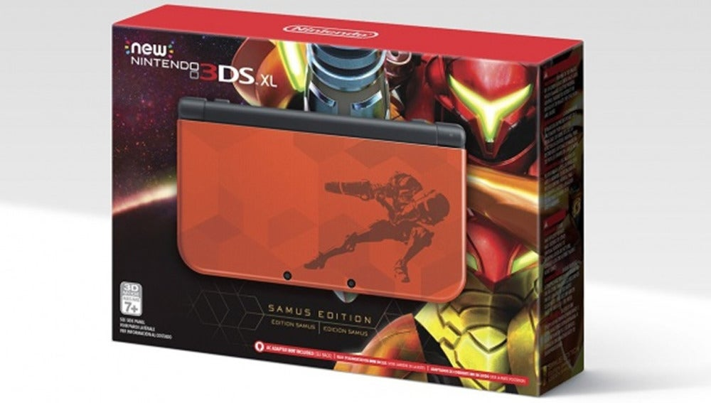 "New Nintendo 3DS XL ""Samus Edition"""