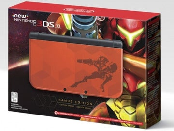 "New Nintendo 3DS XL ""Samus Edition"""