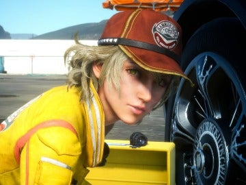Cindy en Final Fantasy XV