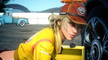 Cindy en Final Fantasy XV