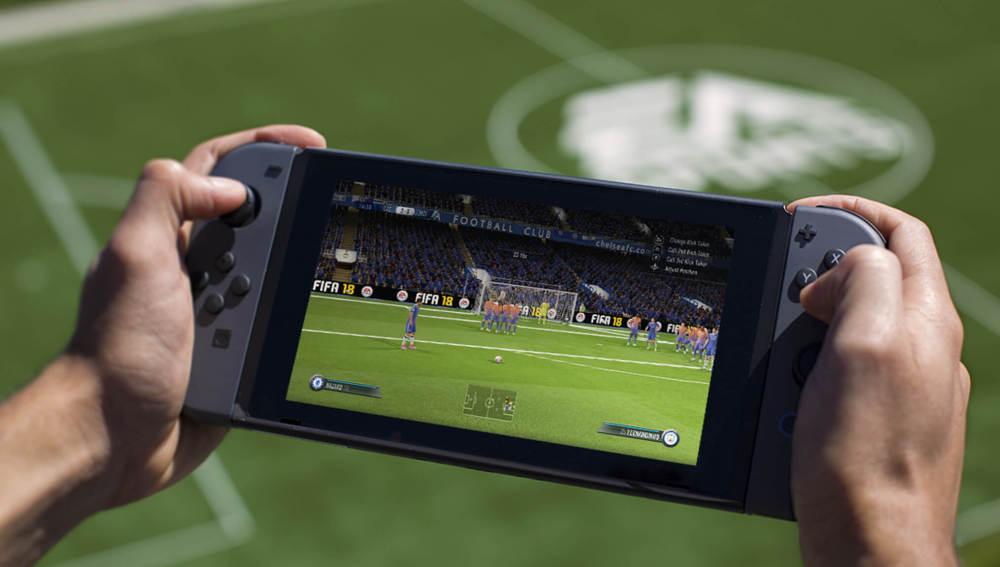FIFA 18 en Nintendo Switch