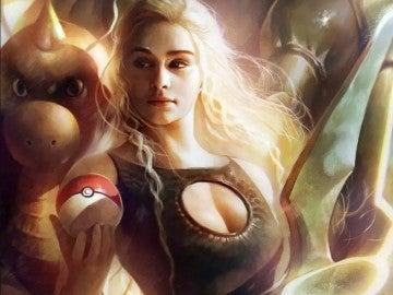 Daenereys como entrenadora Pokémon