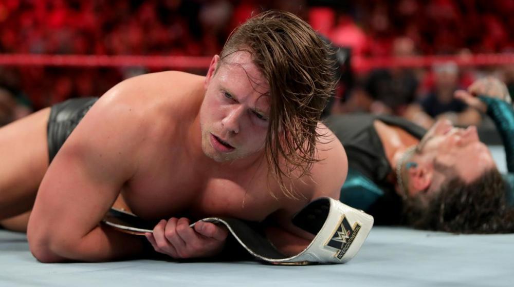 The Miz retiene el título Intercontinental ante Jeff Hardy en 'Raw'